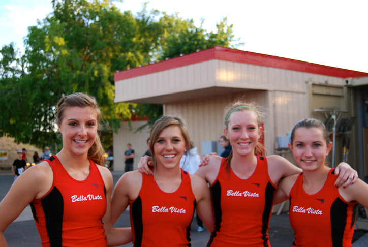 2011 Bella Vista Track and Field Girls 1600m Relay Team