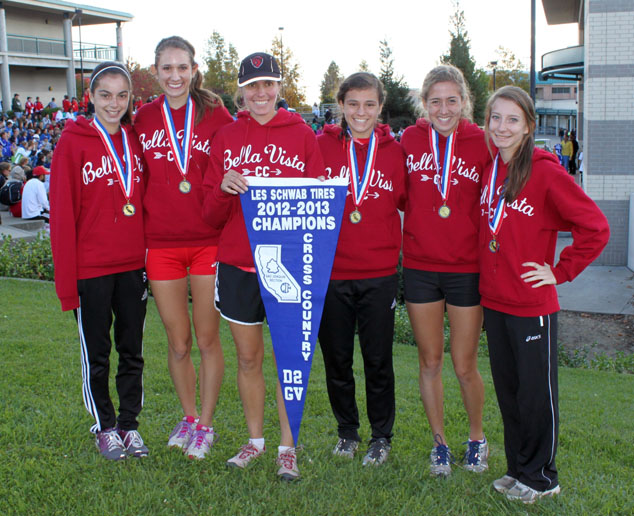2012 Bella Vista Girls XC Section Champs