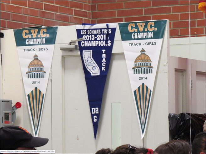 2014 Bella Vista Track and Field Banners