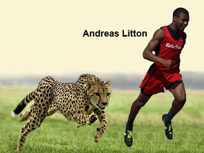 Andreas Litton and Cheetah