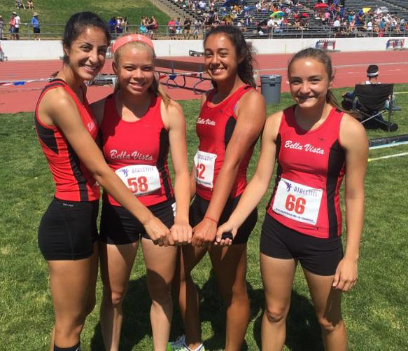 2015 BV Girls 4 x 100 Relay