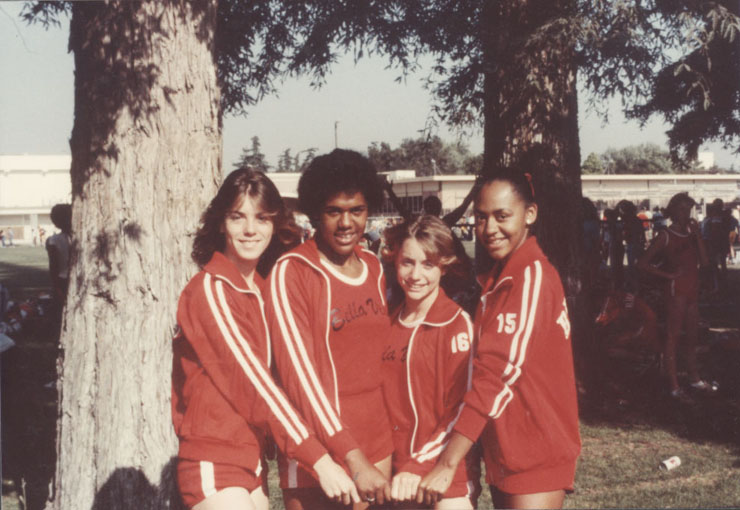 1981 BV Girls 4 x 400 Relay