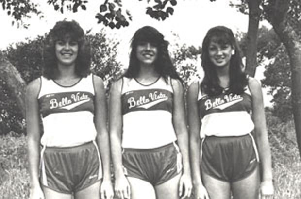 1985 Girls High Jump Team