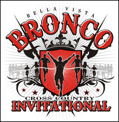 Bella Vista Cross Country Invitational Logo